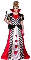 Fairytale Queen of Hearts Costume (EF2155)